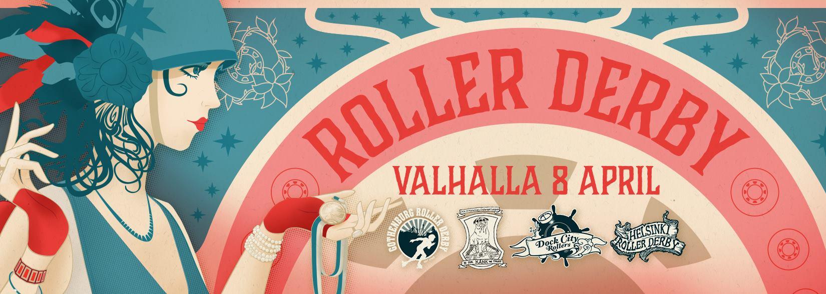 Roller Derby – Triple Header 8th of April